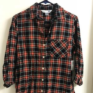 Old Navy Women's Flannel Shirt NWT